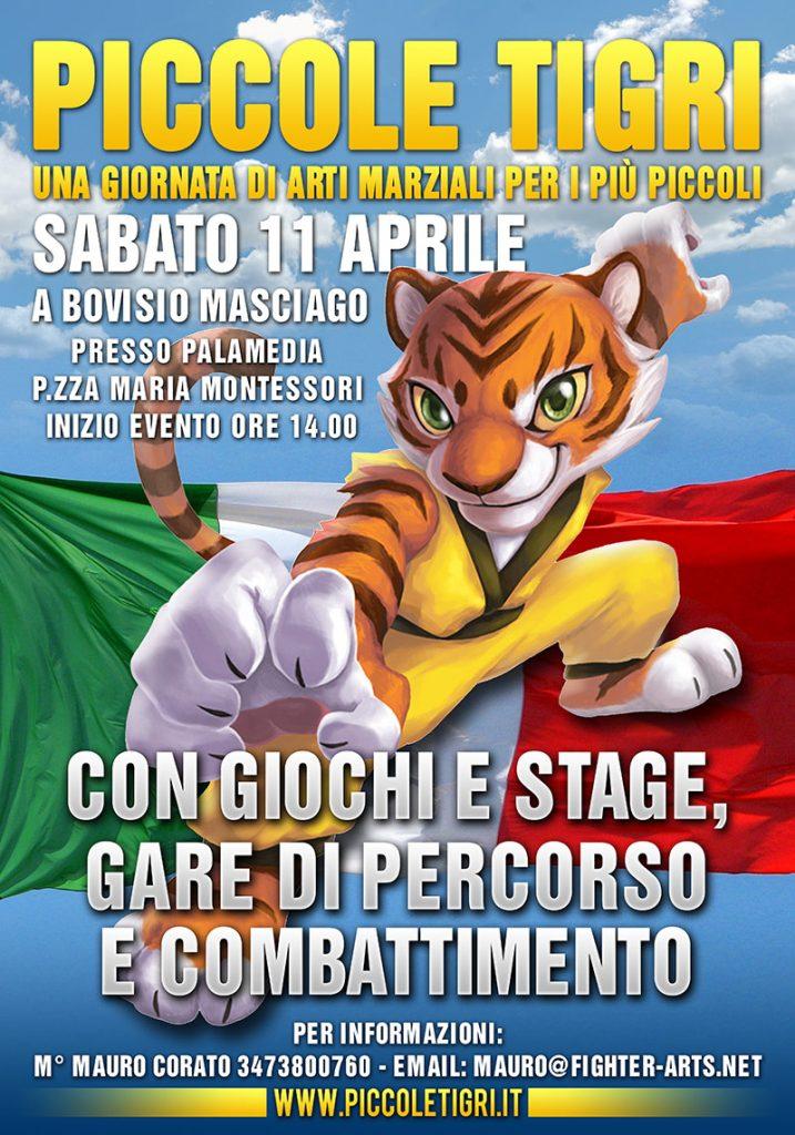 Locandina Piccole Tigri 2015